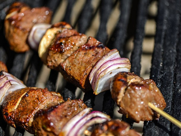 Steakhouse Kebabs Recipe