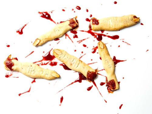 How to Make Halloween Witch Finger Cookies That Actually Bleed