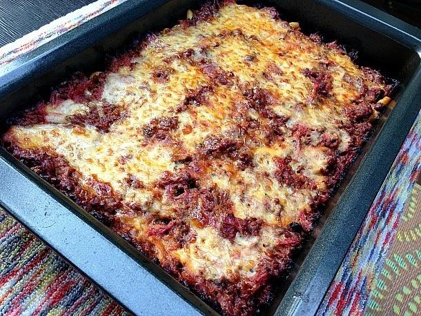 Zucchini Pastitsio (Mediterranean Baked Beef and Pasta Casserole) Recipe