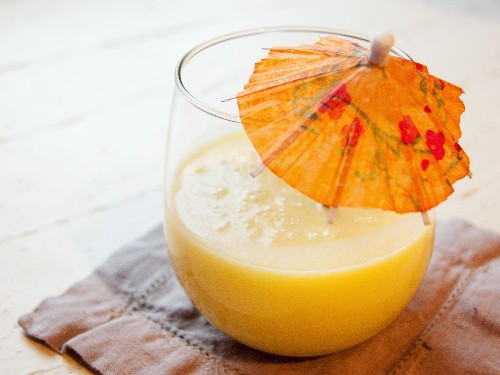 Thai Mango-Pineapple-Coconut Juice Recipe