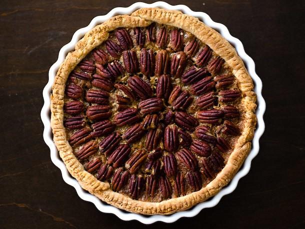 Thanksgiving Pie Head to Head: Classic vs. Salted Chocolate Pecan Pie