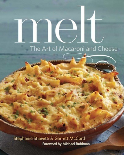 Giveaway: Win A Copy of 'Melt: The Art of Macaroni and Cheese'