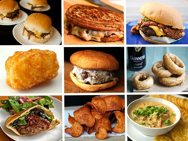 Game Day Eats: Burgers, Sides, and Sauces for Your Superbowl Party
