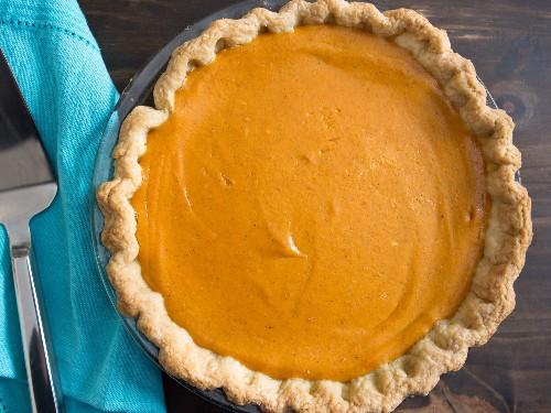 Extra-Smooth Pumpkin Pie Recipe