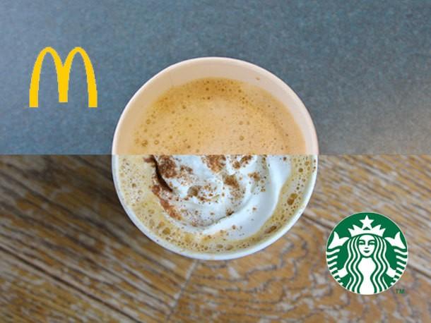 Pumpkin Spice Latte Showdown: Starbucks vs. McDonald's