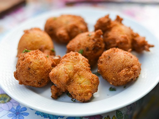 Stuffing Fritters Recipe