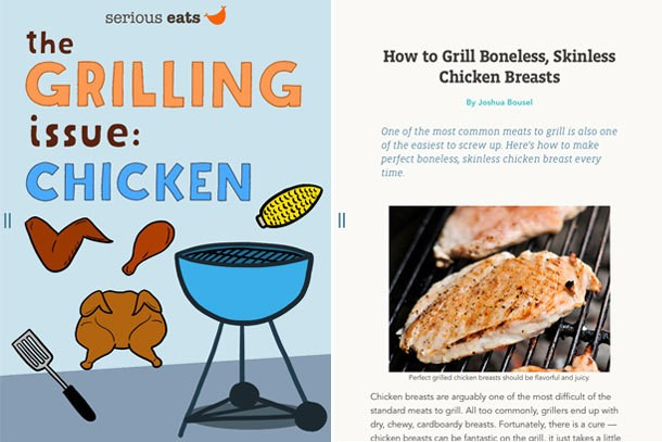 Meet The Serious Eats Magazine Chicken Grilling Issue