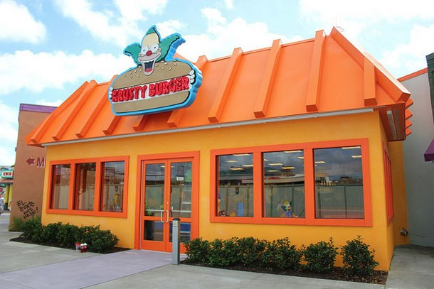 Krusty Burger Now Open in Universal Studios Orlando