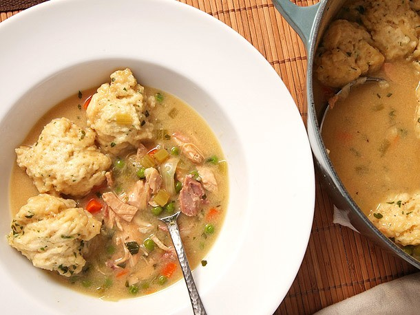 Turkey or Chicken 'n' Dumplings Recipe