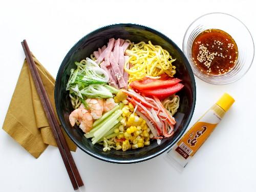 Cool off With Cold Ramen: How to Make Hiyashi Chuka at Home