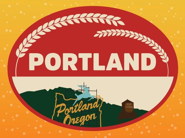 Portland  - Magazine cover