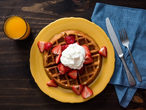 How to Make Brunch in Your Sleep: Overnight Yeast-Raised Waffles