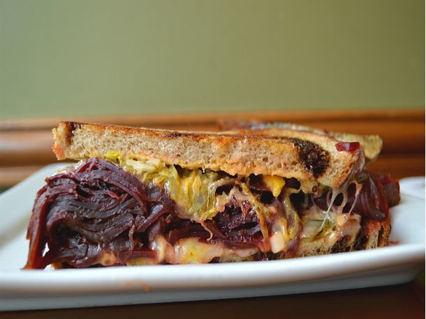A Sandwich a Day: Smoked Beet Reuben at The Rieger Hotel Grill & Exchange, Kansas City