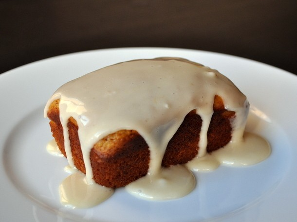 Wake and Bake: Pumpkin Butter Tea Cakes with Orange Glaze