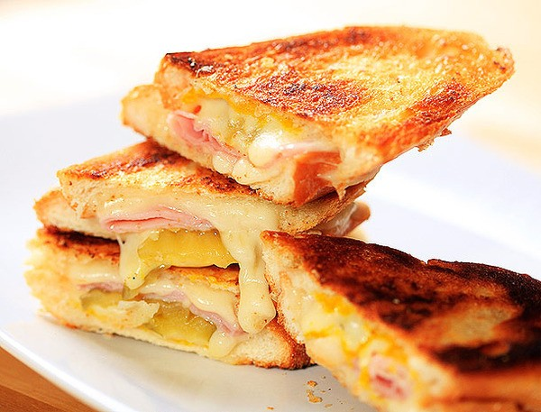 Faux Cubano Grilled Cheese Recipe