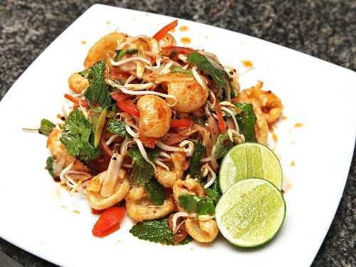 Fried Pork Rinds Get a Thai Treatment in This Issan-Style Salad