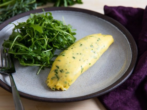French Omelette With Fines Herbes Recipe