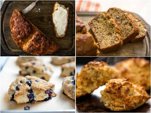 16 Quick Bread Recipes, From Scones and Muffins to Soda Bread
