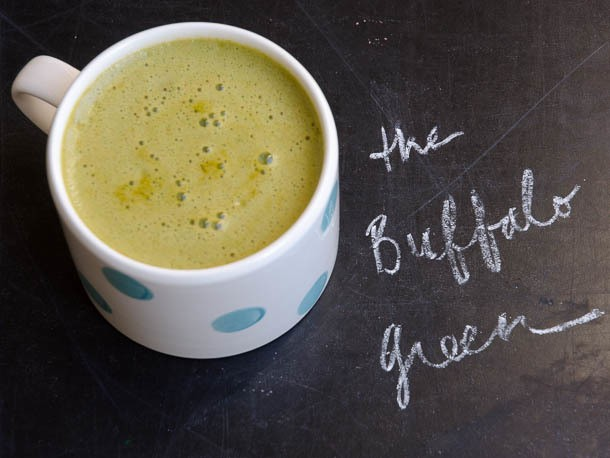 From the Juicer: Buffalo Green Juice
