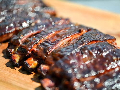 Smoky and Spicy Apricot-Glazed Barbecue Ribs Recipe