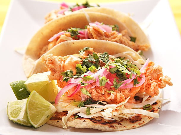 Crunchy Fried Fish Tacos Recipe