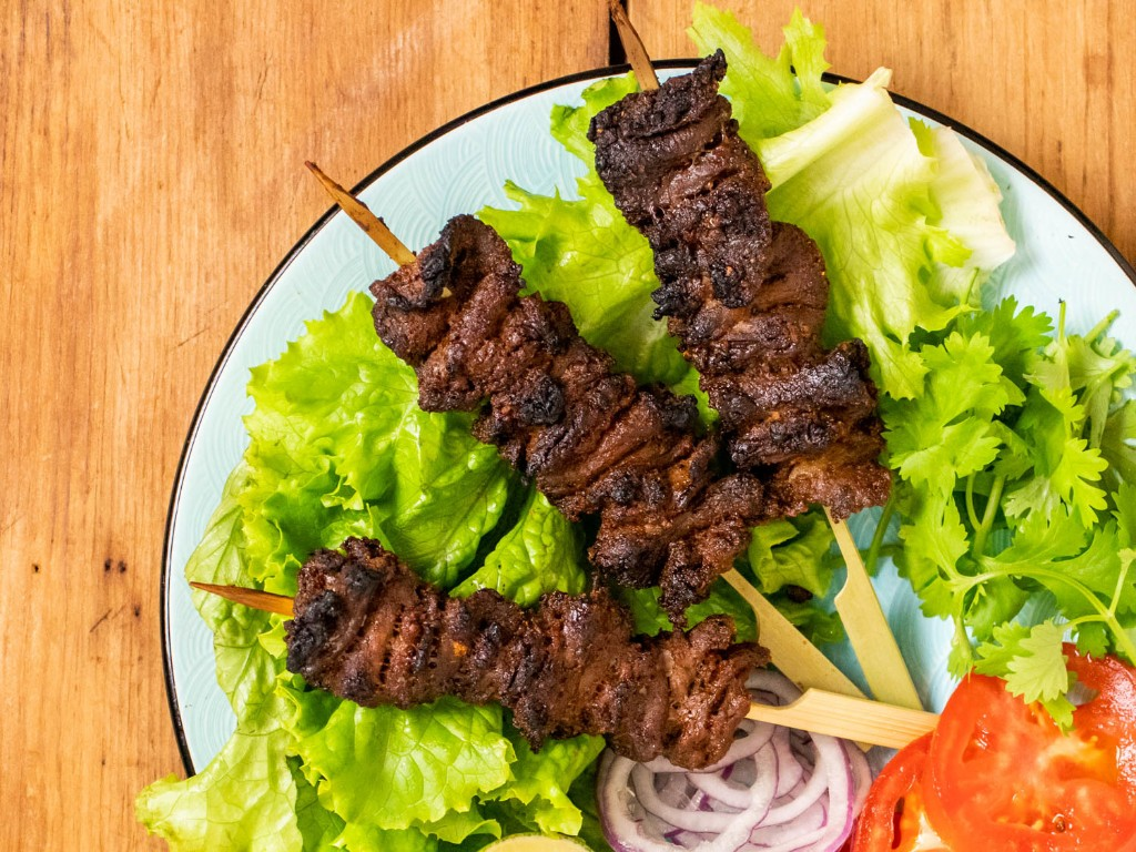 Nigerian Beef Suya (Spiced Grilled Skewers) Recipe