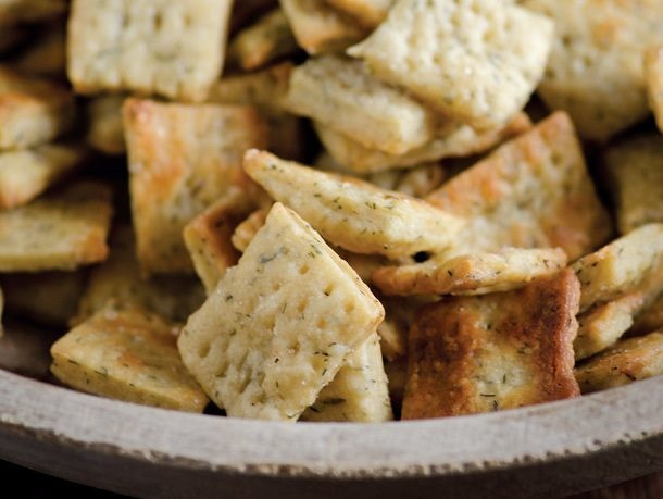 Yogurt and Dill Crackers From 'The Nourished Kitchen'