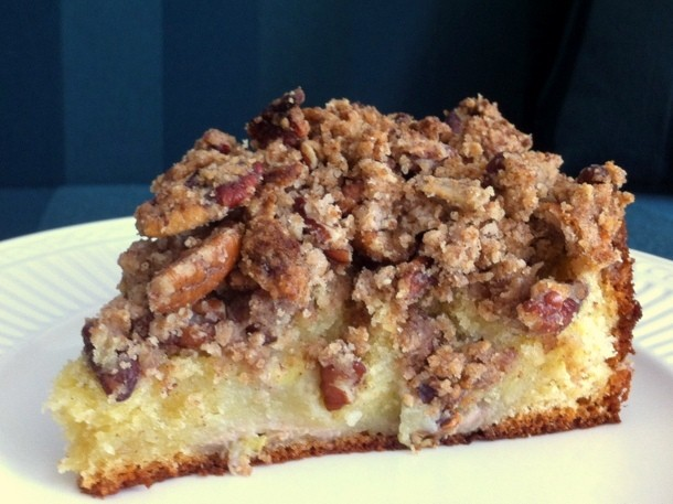 Wake and Bake: Banana Pecan Coffee Cake