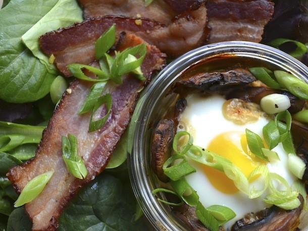 Coddled Eggs With Marmite Mushrooms Recipe