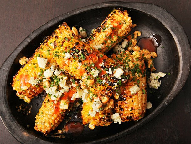 Buffalo Grilled Corn Recipe