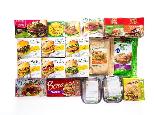 The Best Supermarket Veggie Burgers