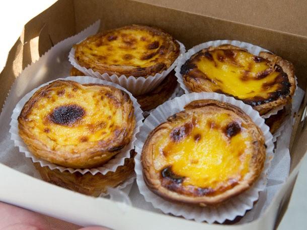 Can't-Miss Egg Custard Tarts at Newark's Teixeiras Bakery