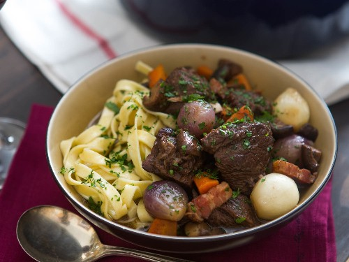 How to Make the Best Boeuf Bourguignon (Beef Stewed in Red Wine)