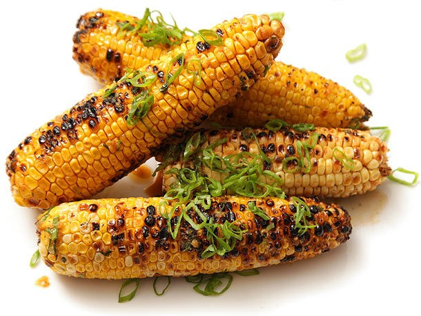 Grilled Corn With Garlic and Ginger Soy Butter Recipe