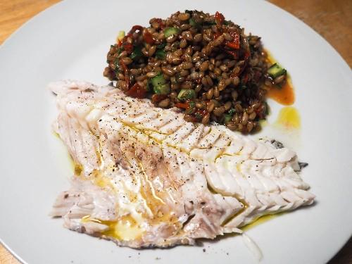 Whole Roasted Fish With Oregano, Parsley, and Lemon Recipe