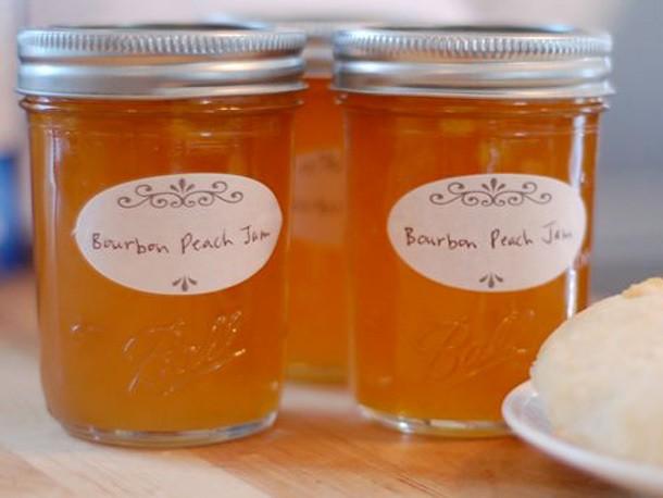 Bourbon Peach Jam Recipe