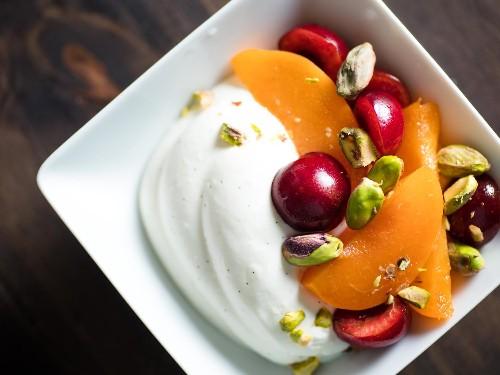 Make Light and Fresh Summer Desserts With Whipped Greek Yogurt