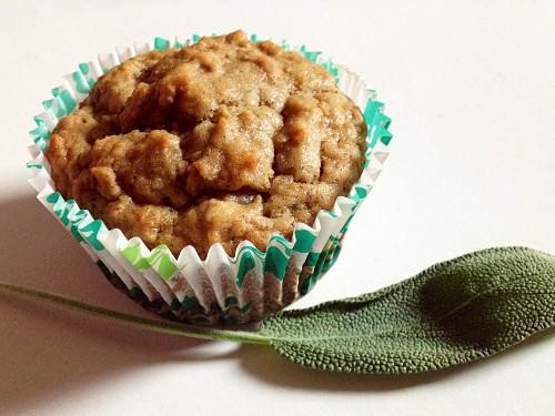 Chestnut Sage Muffins Recipe