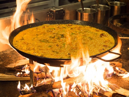 Fire Up the Grill for a Backyard Paella Party