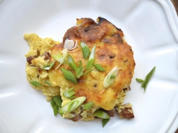 Sausage, Jalapeño, and Cheddar Spoonbread Recipe