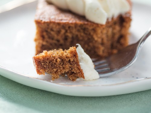 Gingerbread Sheet Cake With Cream Cheese Frosting Recipe