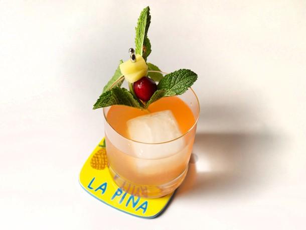 Hazy Sunset (Pineapple-Rum Cocktail With Smoked Ice) Recipe