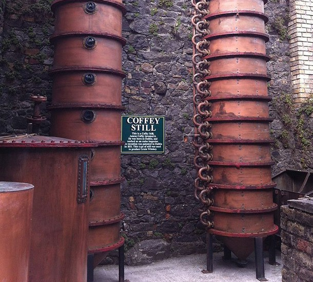 How Booze is Made: The Basics of Column Distillation
