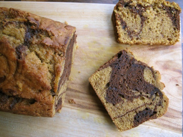 Marble Pumpkin Chocolate Bread Recipe