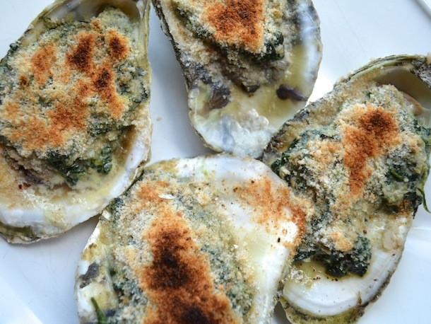 Oysters Florentine Recipe