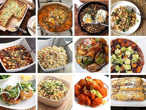 The 18 Best Vegetarian Recipes of 2013