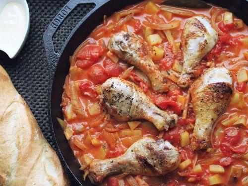 Easy One-Pot Chicken Bouillabaisse Recipe