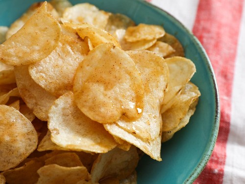 Chipotle Honey-Butter Potato Chips Recipe