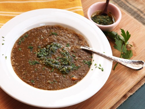 Gremolata is the Secret to the Tastiest Simple Lentil Soup