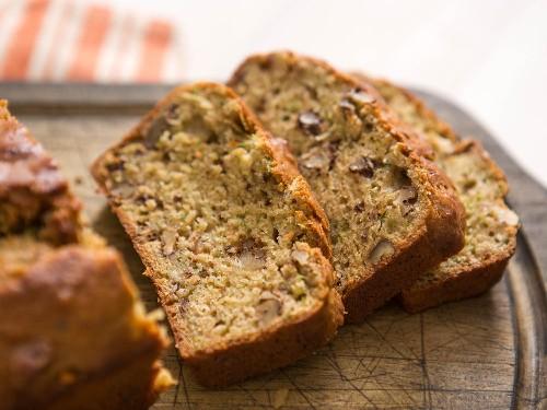 Zucchini Bread With Walnuts Recipe